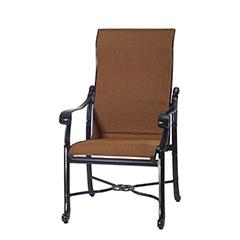 San Marino Padded Sling High Back Dining Chair