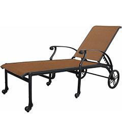 San Marino Padded Sling Chaise Lounge