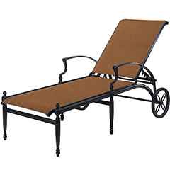 Bel Air Padded Sling Chaise Lounge