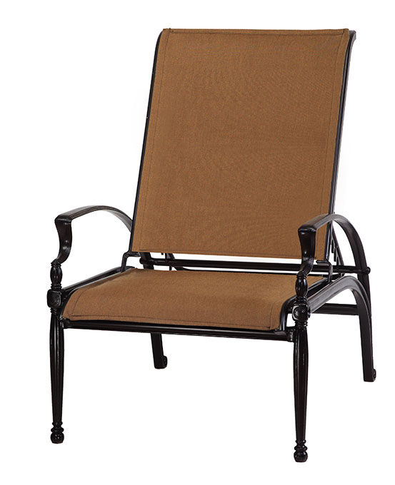 Bel Air Padded Sling Reclining Chair