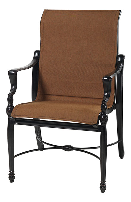 Bel Air Padded Sling Standard Back Dining Chair