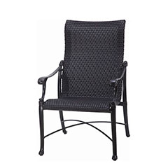 Michigan Woven Standard Back Dining Chair