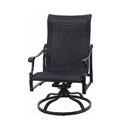 Michigan Woven Standard Back Swivel Rocker
