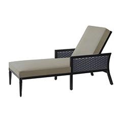 Drake Woven Chaise Lounge