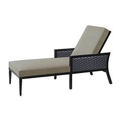 Drake Woven Chaise Lounge