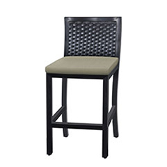 Drake Woven Stationary Balcony Stool w/o Arms