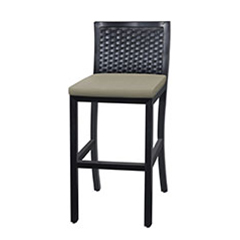 Drake Woven Stationary Bar Stool w/o Arms