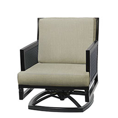 Drake Woven Swivel Rocking Lounge Chair