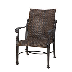 Florence Woven Standard Back Dining Chair