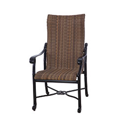 San Marino Woven High Back Dining Chair