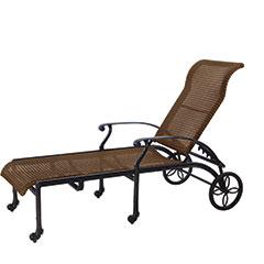 San Marino Woven Chaise Lounge