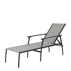 Amari Woven Chaise Lounge