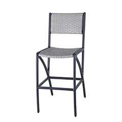 Amari Woven Stationary Bar Stool
