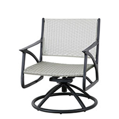 Amari Woven Swivel Rocking Lounge Chair