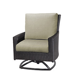 Alexee Woven Swivel Rocking Lounge Chair