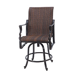 Bel Air Woven Swivel Balcony Stool