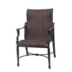 Bel Air Woven Standard Back Dining Chair