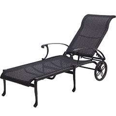 Michigan Woven Chaise Lounge
