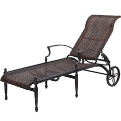 Bel Air Woven Chaise Lounge