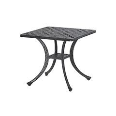 "Verona 21"" Square End Table"