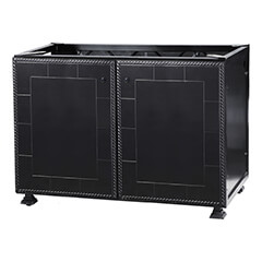 "Paradise 48"" Modular Double Door Cabinet"