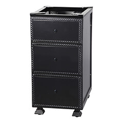 "Paradise 18"" Modular Three Drawer Cabinet"
