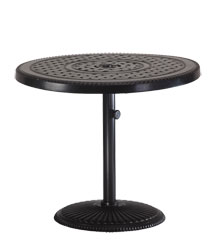 """Grand Terrace 36"""" Round Pedestal Table"""