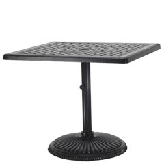 "Grand Terrace 36"" Square Pedestal Table"