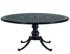 "Grand Terrace 54"" Round Table w/Regal Base"