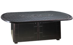 """Grand Terrace 52""""X 72"""" Oval Gas Fire Pit"""