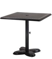 "Lotus 30"" Square Pedestal Table"