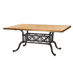 "Paradise 42""x63"" Rectangular Table"