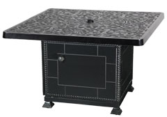 "Regal 42"" Square Gas Fire Pit"
