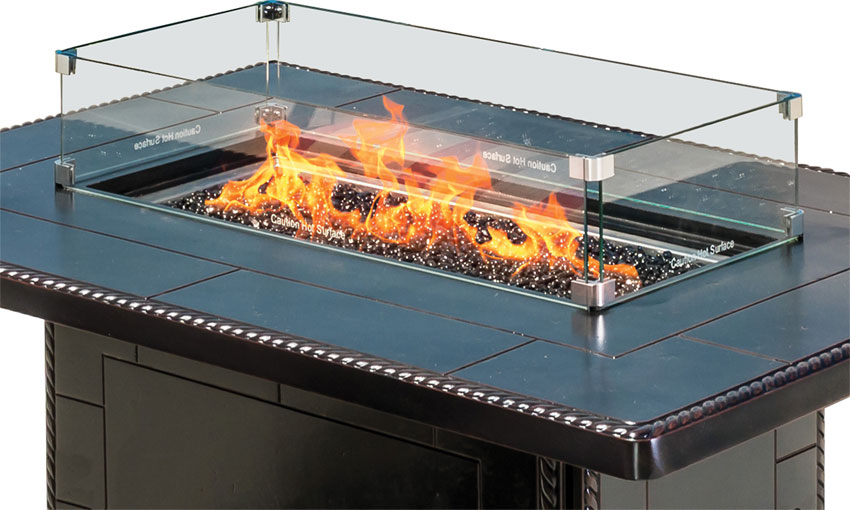 Gas Fire Pit Accessories - Outdoor Furniture > Fire Pit Collections > Gas Fire Pit Accessories