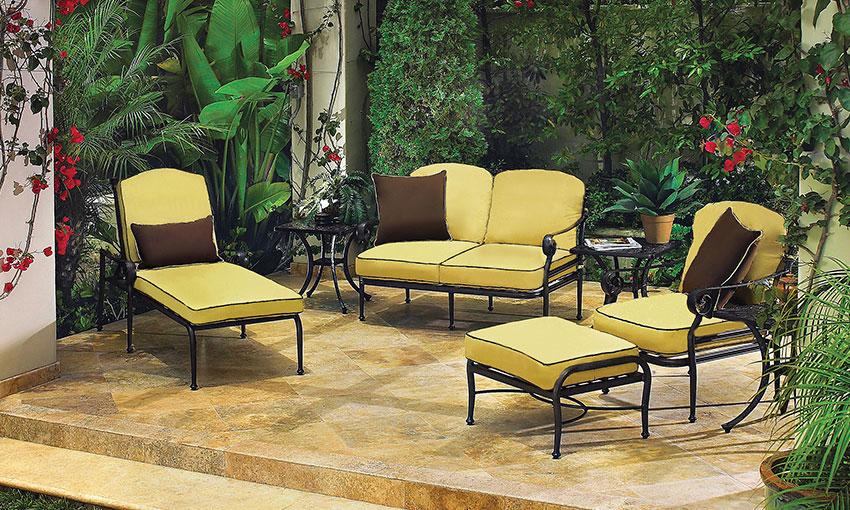 Outdoor Furniture U003e Furniture Collections U003e Verona   Gensun Casual Living