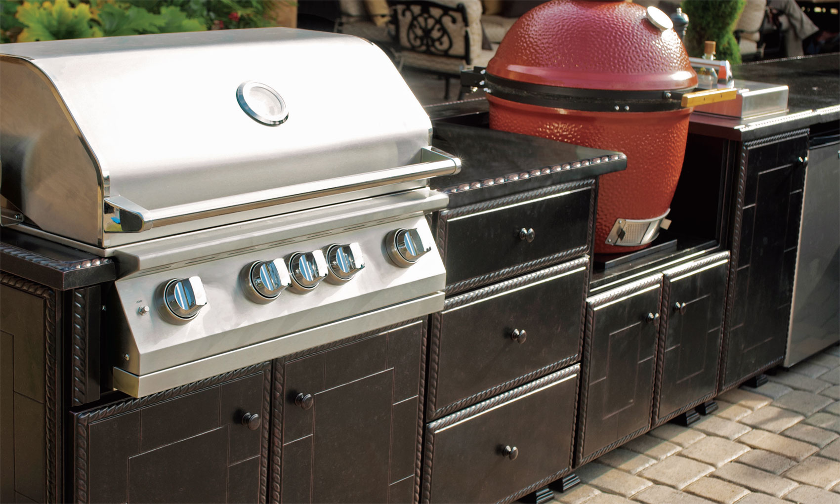 Outdoor Kitchens Appliance Storage Cabinets