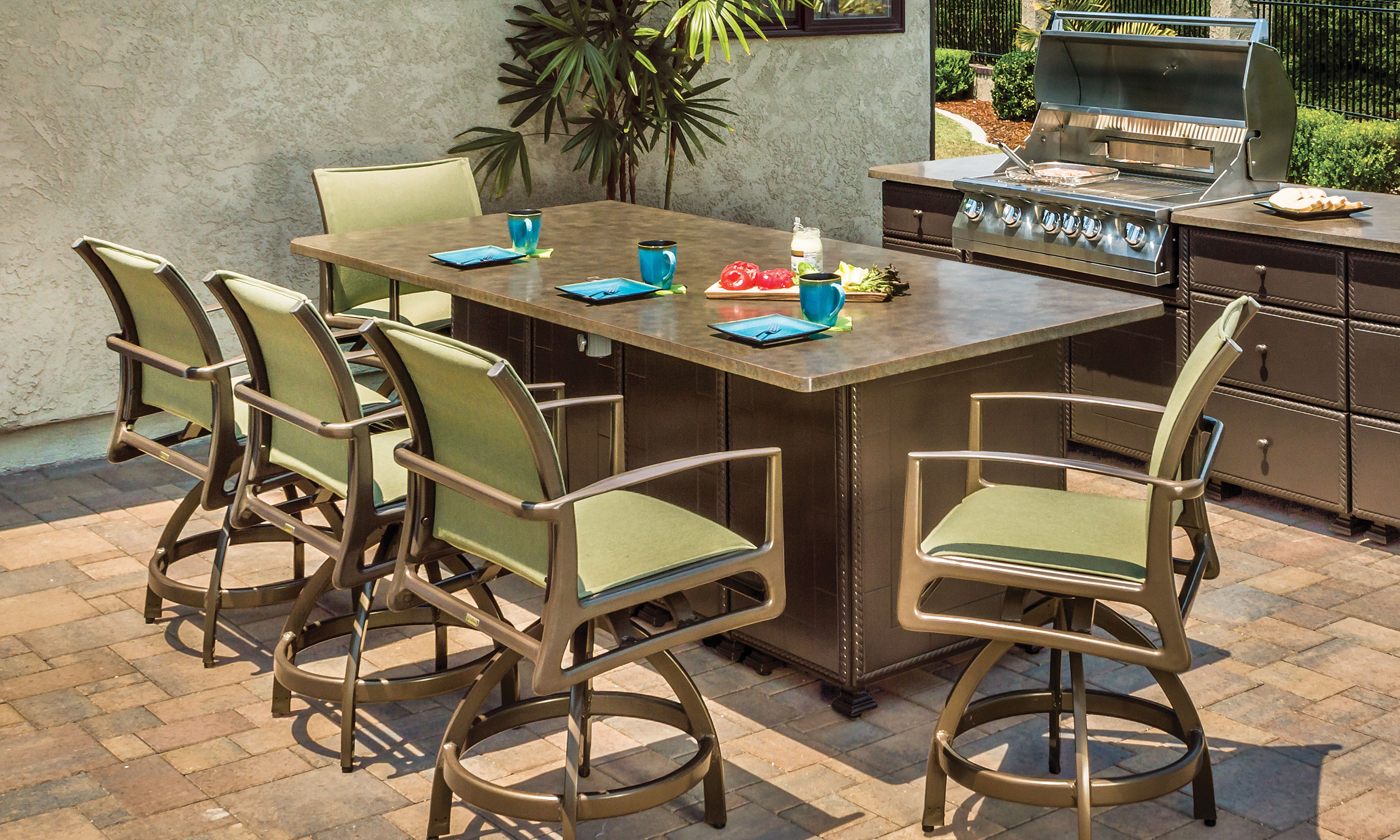 Outdoor Furniture Kitchens Gensun - Patio furniture san jose ca